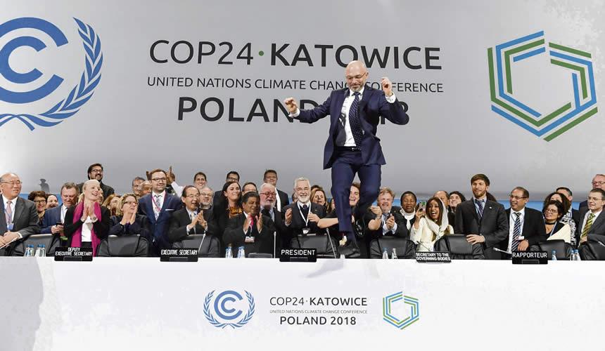 COP24 : Adoption et application des objectifs insuffisants de la COP21