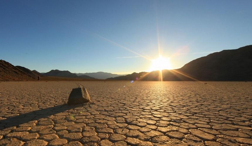Photo de la chaleur extrême dans la Death Valley