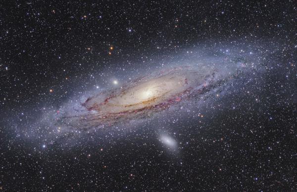 La planète Terre dans la galaxie.