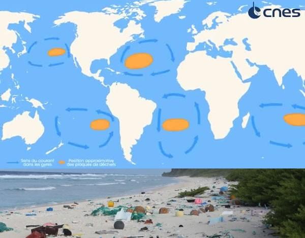 Le gyre pacifique et les îles Pitcairn