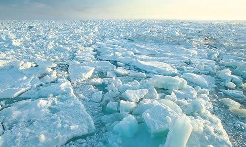 La fonte du pôle nord.