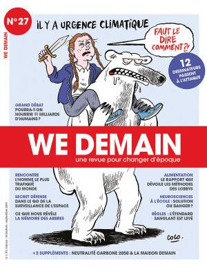 La revue We Demain est riche d'articles et de reportages intelligents sur la planète