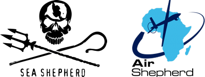 Logo de l'ONG Sea Shepherd et Air Shepherd