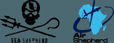 Logo de l'ONG Sea Shepherd et Air Shepherd